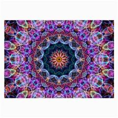 Purple Lotus Glasses Cloth (large)