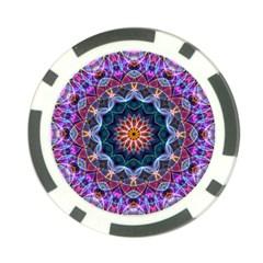 Purple Lotus Poker Chip