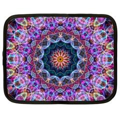 Purple Lotus Netbook Sleeve (xxl)