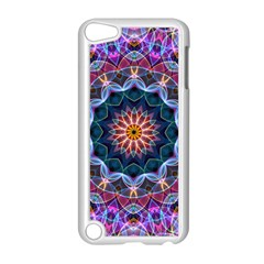 Purple Lotus Apple iPod Touch 5 Case (White)