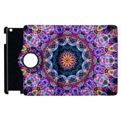 Purple Lotus Apple iPad 2 Flip 360 Case