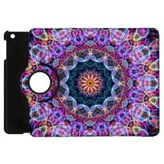 Purple Lotus Apple Ipad Mini Flip 360 Case
