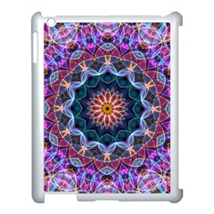 Purple Lotus Apple iPad 3/4 Case (White)