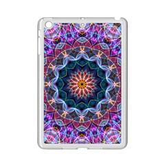 Purple Lotus Apple iPad Mini 2 Case (White)