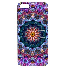 Purple Lotus Apple iPhone 5 Hardshell Case with Stand