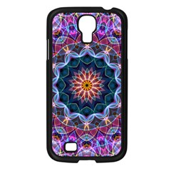 Purple Lotus Samsung Galaxy S4 I9500/ I9505 Case (black)