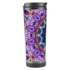 Purple Lotus Travel Tumbler