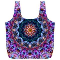 Purple Lotus Reusable Bag (xl)