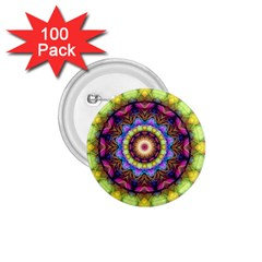 Rainbow Glass 1.75  Button (100 pack)