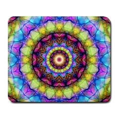 Rainbow Glass Large Mouse Pad (rectangle)