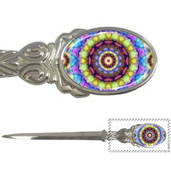 Rainbow Glass Letter Opener