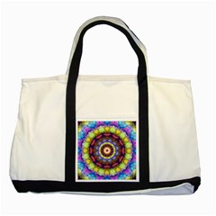 Rainbow Glass Two Toned Tote Bag