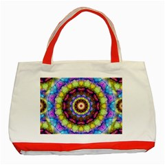Rainbow Glass Classic Tote Bag (Red)