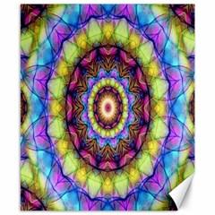 Rainbow Glass Canvas 8  x 10  (Unframed)