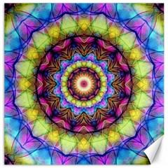 Rainbow Glass Canvas 12  x 12  (Unframed)