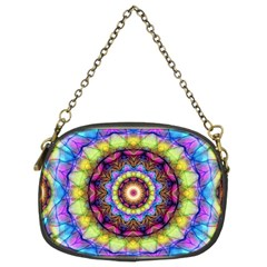 Rainbow Glass Chain Purse (Two Sided)