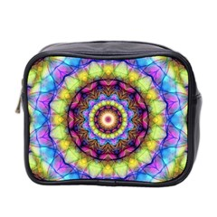 Rainbow Glass Mini Travel Toiletry Bag (Two Sides)