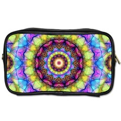 Rainbow Glass Travel Toiletry Bag (One Side)