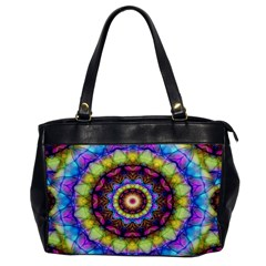 Rainbow Glass Oversize Office Handbag (One Side)