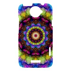 Rainbow Glass HTC One X Hardshell Case