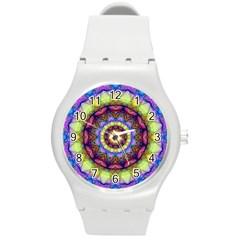 Rainbow Glass Plastic Sport Watch (Medium)