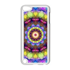 Rainbow Glass Apple iPod Touch 5 Case (White)