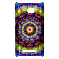 Rainbow Glass HTC 8X Hardshell Case