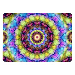 Rainbow Glass Samsung Galaxy Tab 10.1  P7500 Flip Case