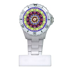 Rainbow Glass Nurses Watch