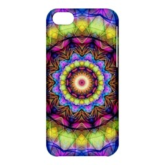 Rainbow Glass Apple iPhone 5C Hardshell Case