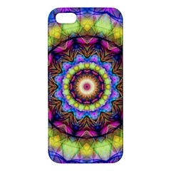 Rainbow Glass iPhone 5S Premium Hardshell Case