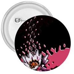 Flower 3  Button