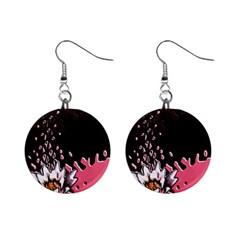 Flower Mini Button Earrings