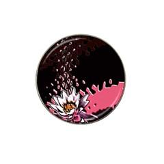 Flower Golf Ball Marker (for Hat Clip)