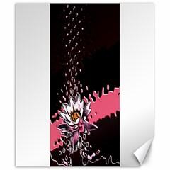 Flower Canvas 20  x 24  (Unframed)
