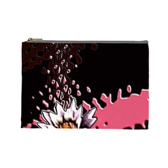 Flower Cosmetic Bag (large)