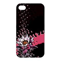 Flower Apple Iphone 4/4s Premium Hardshell Case