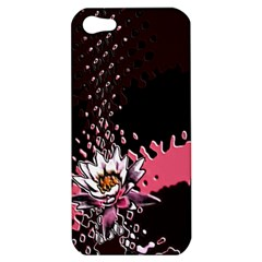 Flower Apple Iphone 5 Hardshell Case