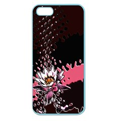 Flower Apple Seamless Iphone 5 Case (color)