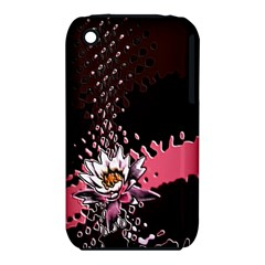 Flower Apple iPhone 3G/3GS Hardshell Case (PC+Silicone)