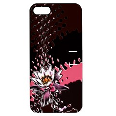 Flower Apple iPhone 5 Hardshell Case with Stand