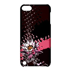 Flower Apple Ipod Touch 5 Hardshell Case With Stand