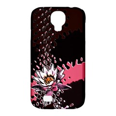 Flower Samsung Galaxy S4 Classic Hardshell Case (pc+silicone)