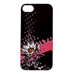 Flower Apple iPhone 5S Hardshell Case