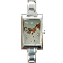 Monarch Rectangular Italian Charm Watch