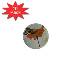 Monarch 1  Mini Button Magnet (10 pack)