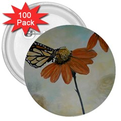 Monarch 3  Button (100 pack)
