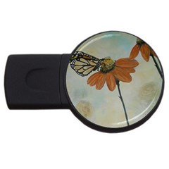 Monarch 2GB USB Flash Drive (Round)