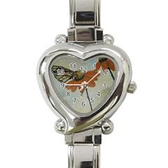 Monarch Heart Italian Charm Watch