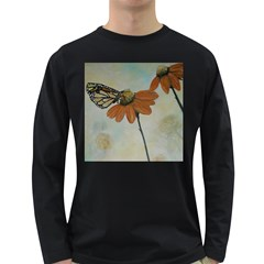 Monarch Men s Long Sleeve T-shirt (Dark Colored)